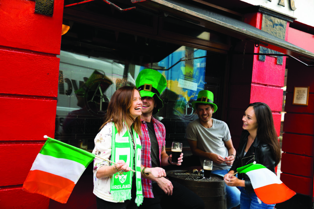 Ierland - Temple Bar Dublin