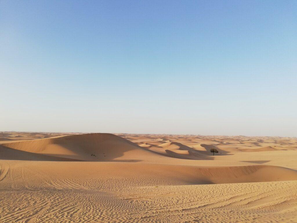 woestijn Dubai Abu Dhabi