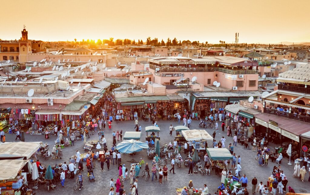 Foto Marrakesh: Photo by CALIN STAN on Unsplash