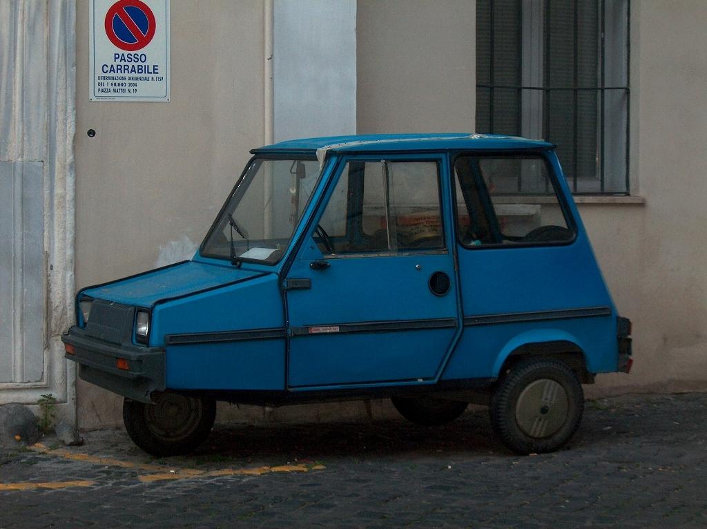 Kleine auto in Rome