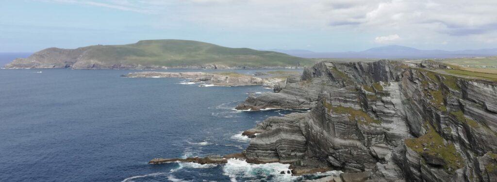 Cliffs of Kerry - zuidelijke schiereilanden van Ierland
