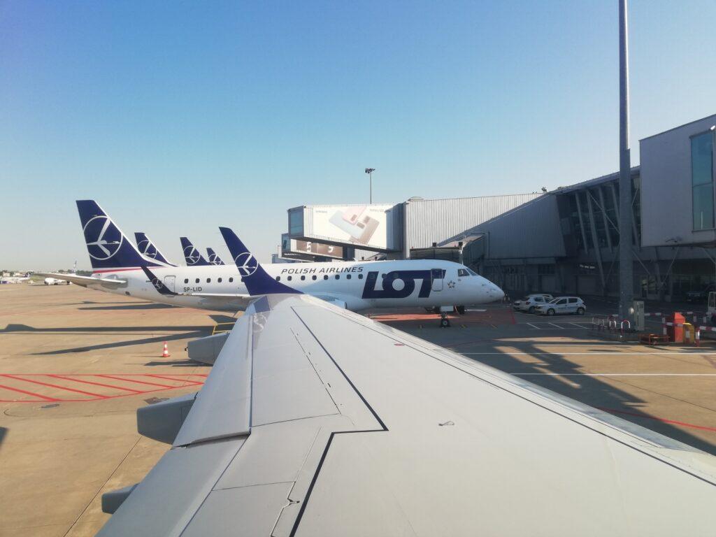 LOT Polish Airlines in Warschau