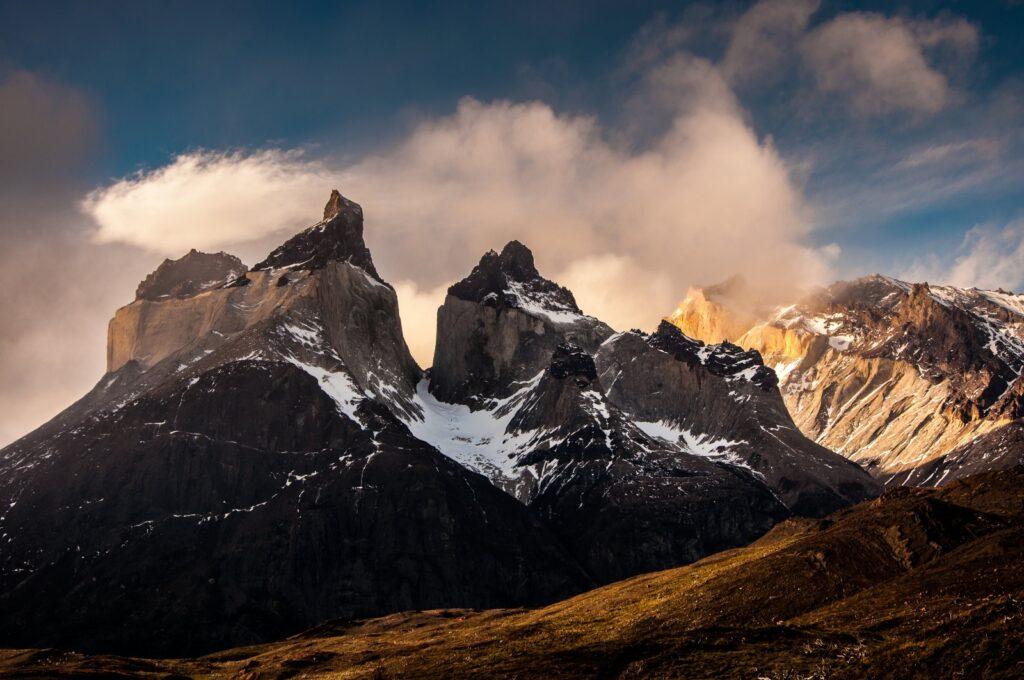 Torres del Paine in Patagonië