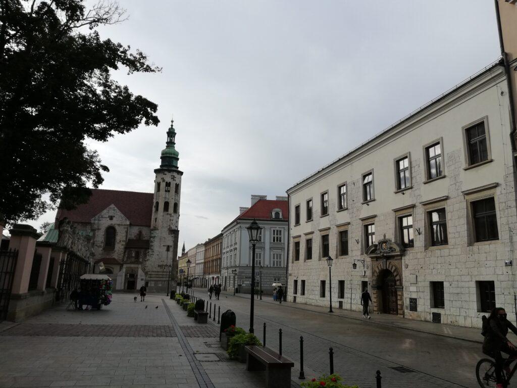de binnenstad van Krakau