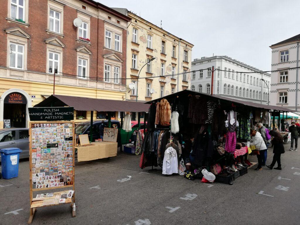 marktje in Krakau