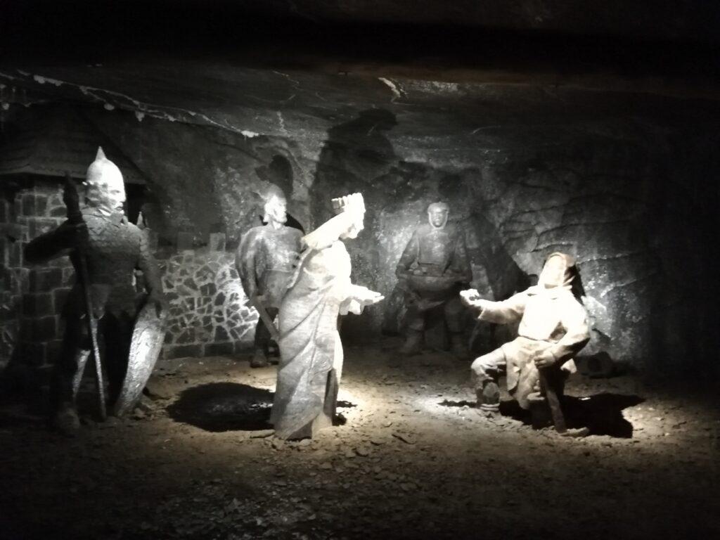ontdek de mijngangen in de Wieliczka-zoutmijn tijdens je citytrip Krakau
