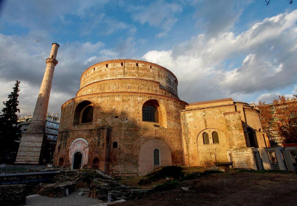 mausoleum van keizer Galerius in Thessaloniki
