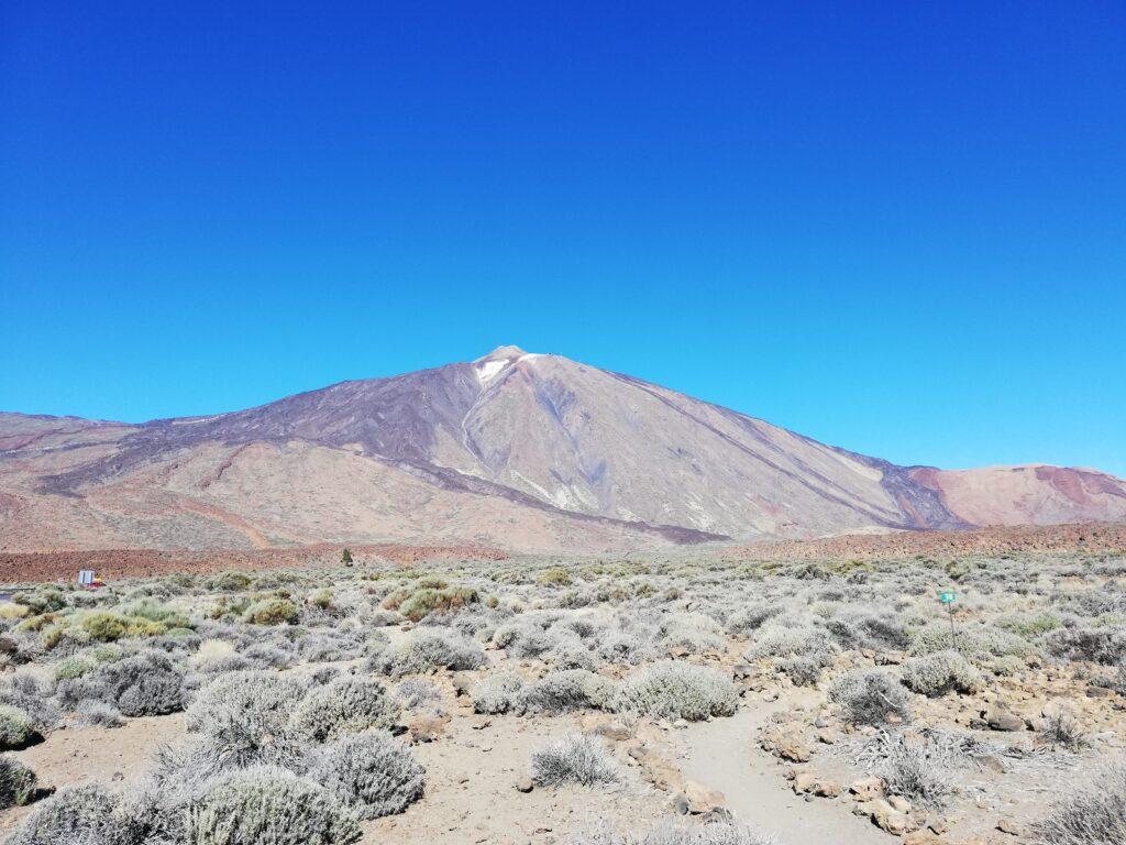 de Teide vulkaan op Tenerife