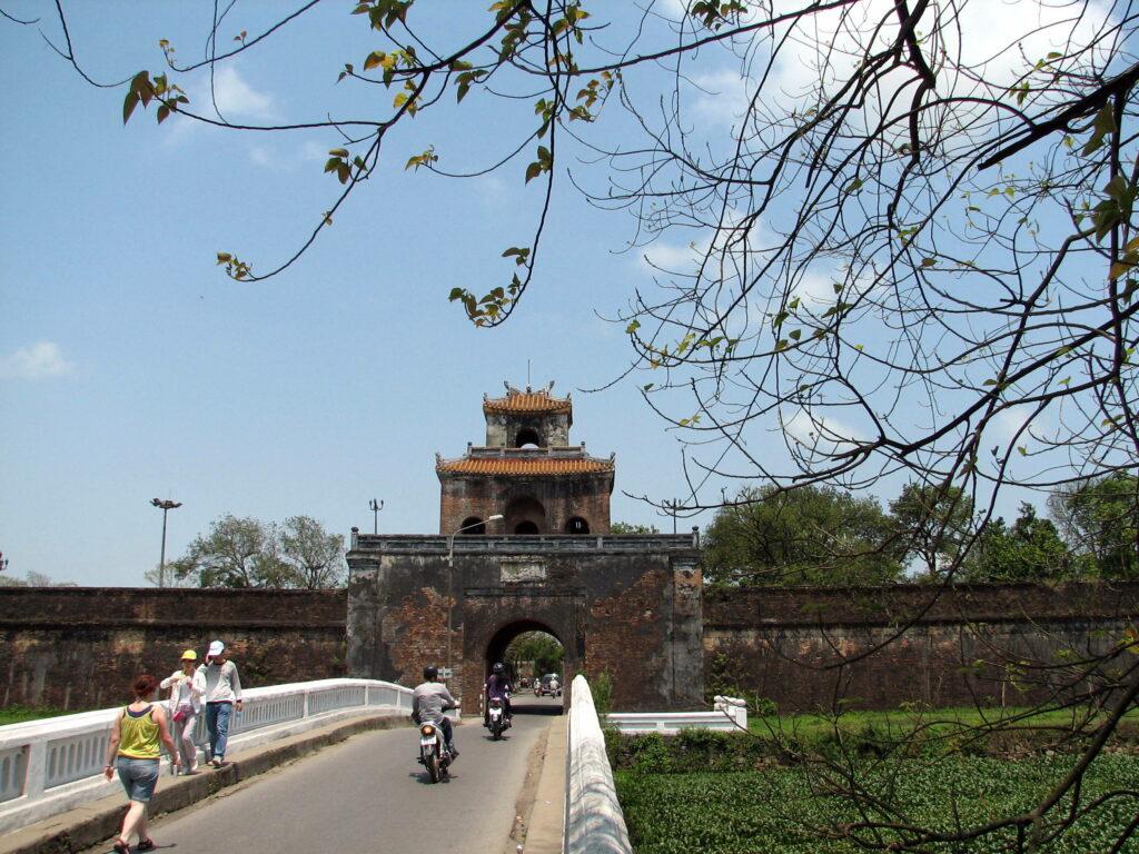 de oude keizerstad Hue