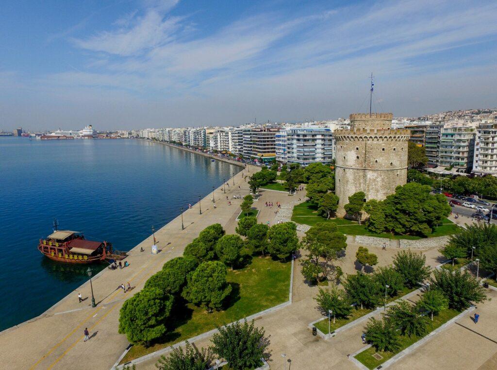 de Witte Toren van Thessaloniki